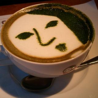 よーじや製抹茶カプチーノ(よーじやカフェ 三条店)