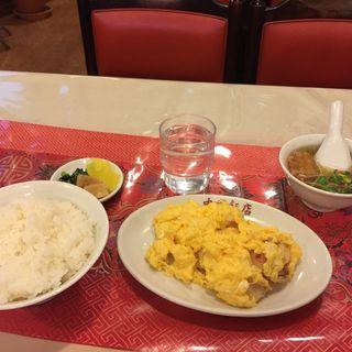 エビと卵炒め(中国飯店)