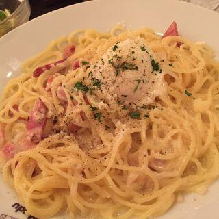 カルボナーラ(カフェ・マディ 青山店 (Cafe Madu))
