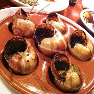 殻付きエスカルゴの香草バター焼 ブルギニョン風(バクライ (VAKURAI ))
