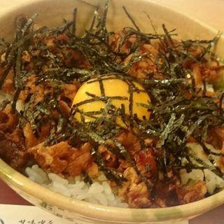豚肉生姜焼き丼(おかげ庵 )