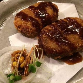 お肉屋さんの手作りコロッケ(駄駄っ子 (ダダッコ))