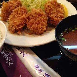 ヒレカツ定食(銀座 梅林)