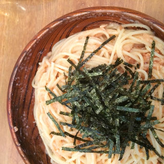 たらことツナのスパゲティ(HASHIYA)