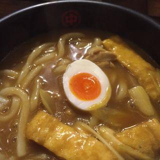 鶏肉カレーうどん(中川屋カレーうどん 駒沢大学店 (なかがわやかれーうどん))