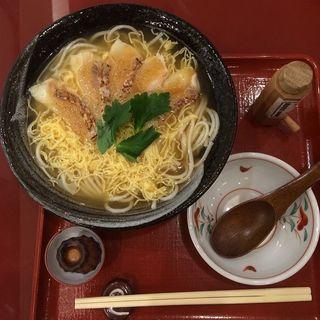 炙り鯛の胡麻醤油にゅうめん(ばさら 梅々庵 )