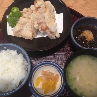 チキン南蛮定食(しゃぶしゃぶ紺 (kou【旧店名】とりひろ 京橋店))