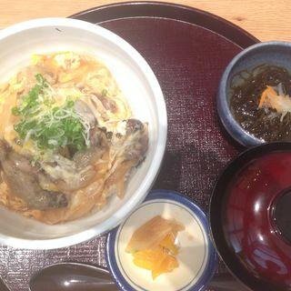 親子丼定食(しゃぶしゃぶ紺 (kou【旧店名】とりひろ 京橋店))