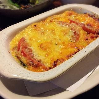 トマトのチーズ焼き(トリビー)