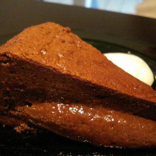 チョコレートケーキ(ダージリンセット)(アイティーハウス (I TeA HOUSE))