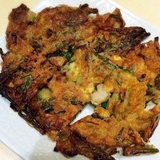 海鮮チヂミ(にっこりマッコリ そごう横浜店 (炭火焼韓国家庭料理韓国食彩))