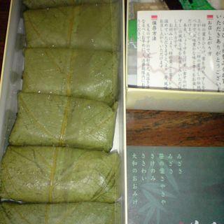 柿の葉すし (6個入)(ゐざさ寿司 中谷本舗 新宿高島屋店 )