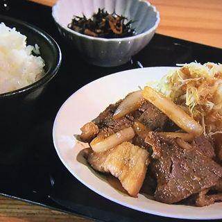 豚生姜焼定食(やまや 京阪京橋店 )