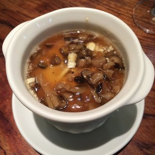 フォアグラ茶碗蒸し(ルージュエブランコウハク (Rouge et blanc Kohaku))