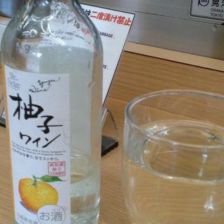 ゆずワイン(元祖串かつ だるま 通天閣店 )
