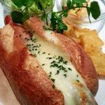 チーズのホットドック