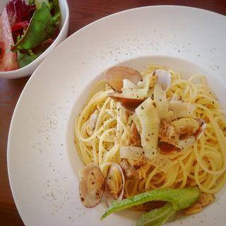 ボンゴレビアンゴ ランチセット(コージーカフェ (COZY CAFE))
