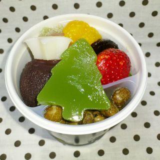 クリスマスあんみつ(船橋屋 東京スカイツリータウン・ソラマチ店 )