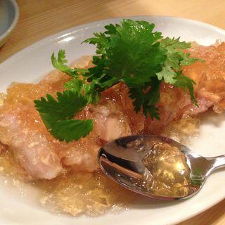 蒸し鶏(龍虎 (リュウコ))