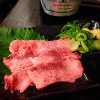 タン刺(神戸マッスルホルモン )