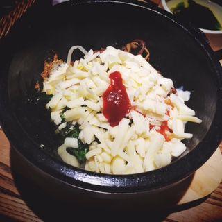 チーズ焼きビビンバ(パプサン (pab-sang))
