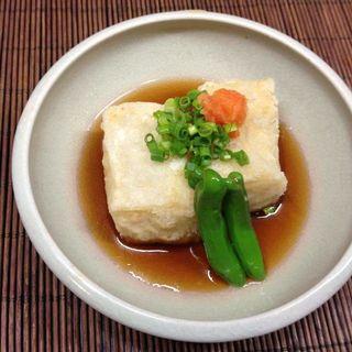 揚げ出し豆腐(喜多八)