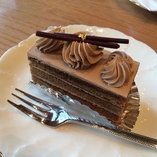 モカケーキ(Cafe 傳 (カフェ・デン))
