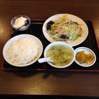 豚野菜炒め定食(勇記餃子房 (ユウキギョウザボウ))