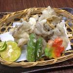 マイタケの天ぷら