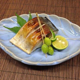 鯖の塩焼き(喜多八)