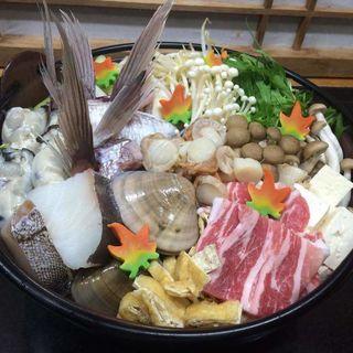 海鮮鍋(喜多八)