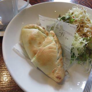 ピザ・フリッター(バジル&チキン)セット(壱枚乃絵 (イチマイノエ))