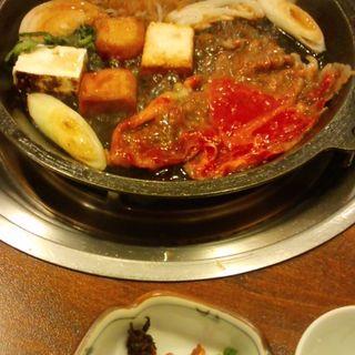 すき焼き昼膳(浅草今半 国際通り本店)