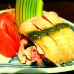 蒸し鶏の山椒ソース(美齢 (メイリン))