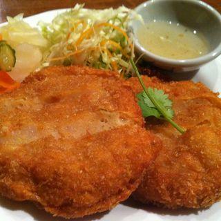 魚のすり身揚げ(クワン チャイ 岡本店 (Khuan Jai))