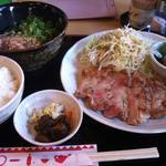 ポークステーキ定食(おろしポン酢)