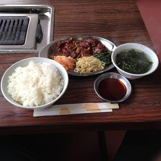 ハラミランチセット(ソウル )
