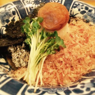 梅おろし蕎麦(明月庵 ぎんざ 田中屋 銀座本店 (めいげつあんぎんざたなかや))