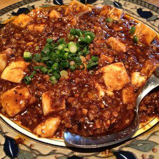 四川風麻婆豆腐(老虎菜 (ラオフーツァイ))