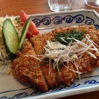 おろしカツ定食(ろくまる五元豚 丸の内TOKIA店 (ろくまるごげんとん))