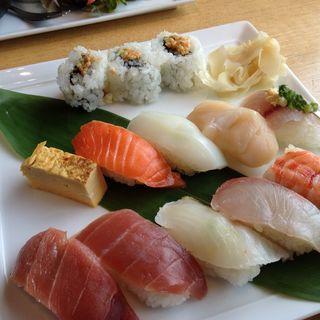 握り寿司盛り合わせ(オペーク スシレストラン&ラウンジ )