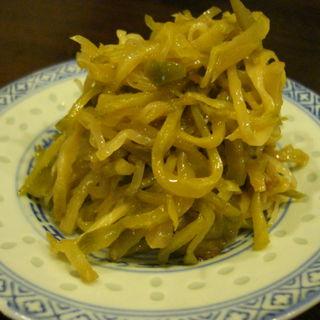 ザーサイの胡麻油和え(中国菜 オイル )