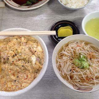 親子丼定食(総本家 更科 (さらしな))