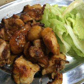 鳥の味噌焼き定食(とり金)