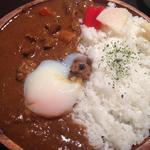 牛スジカレー(温玉100円プラス)