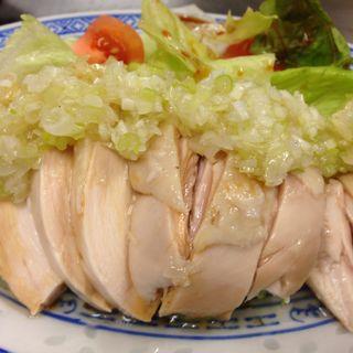 蒸し鶏(なかちゃん )