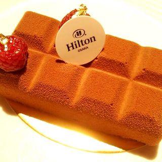 チョコレートラズベリー(中国料理 「王朝」 ヒルトン大阪 (オウチョウ))