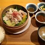 季節野菜のセイロ蒸し膳