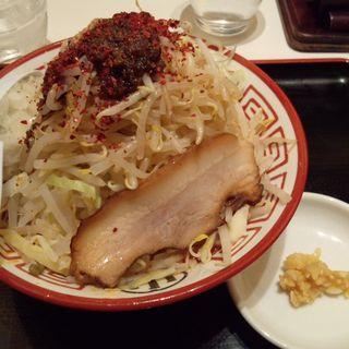 海老まぜそば(並150g)野菜増し+ニンニク (大勝軒 麺屋こうじ レイクタウン)