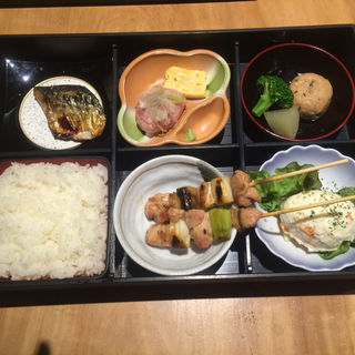 焼鳥松花堂弁当(南部どり 赤坂店 (なんぶどり))